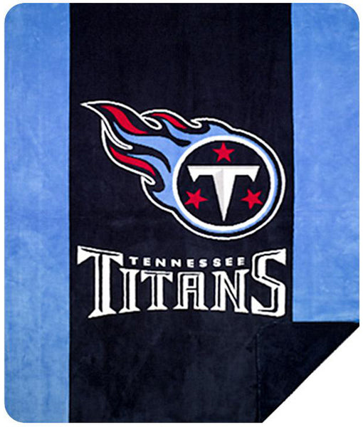 Tennessee Titans NFL Denali Throw Blanket - unique linens online