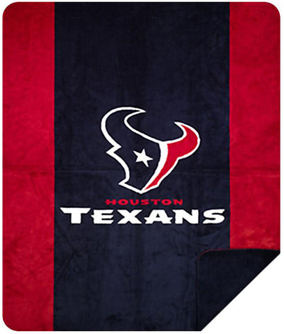 Houston Texans NFL Denali Throw Blanket - unique linens online