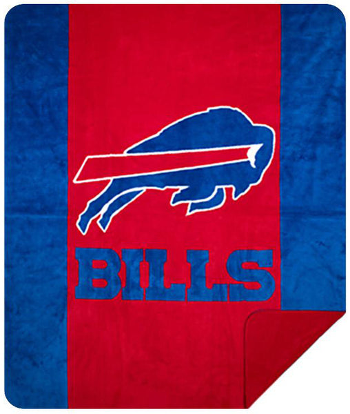 Buffalo Bills NFL Denali Throw Blanket - unique linens online