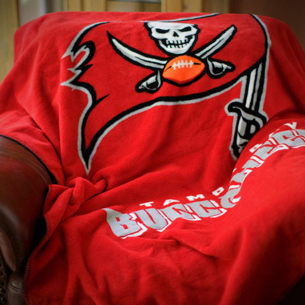 Tampa Bay Buccaneers NFL Denali Throw Blanket - unique linens online