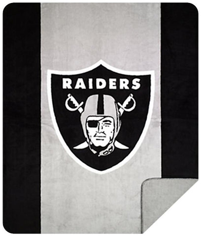 Oakland Raiders NFL Denali Throw Blanket