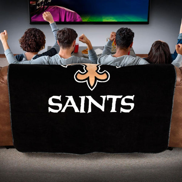 New Orleans Saints NFL Denali Throw Blanket - unique linens online