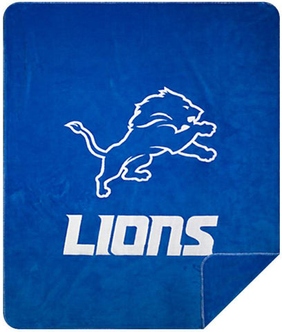 Detroit Lions NFL Denali Throw Blanket - unique linens online