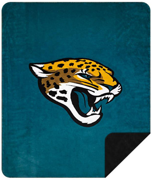 Jacksonville Jaguars NFL Denali Throw Blanket - Unique Linens Online