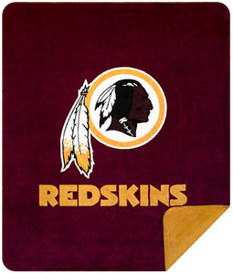 Washington Redskins NFL Denali Throw Blanket - unique linens online