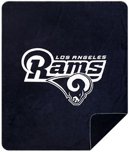 Los Angeles Rams NFL Denali Throw Blanket - unique linens online