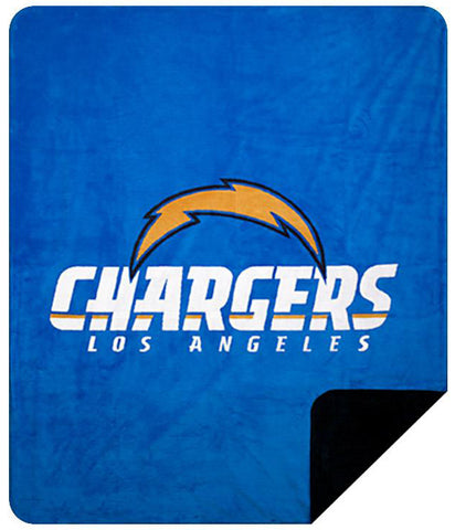 Los Angeles Chargers NFL Denali Throw Blanket
