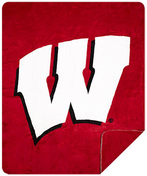 Wisconsin Badgers Denali Blanket - unique linens online