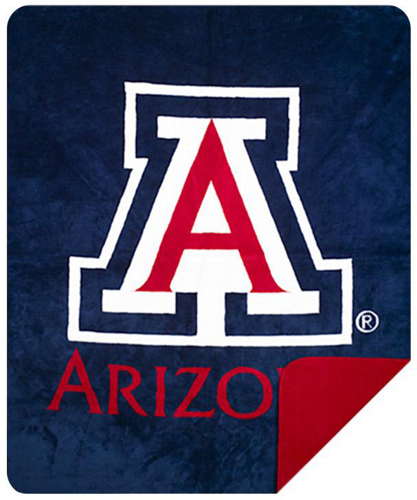 Arizona Wildcats Denali Blanket - unique linens online