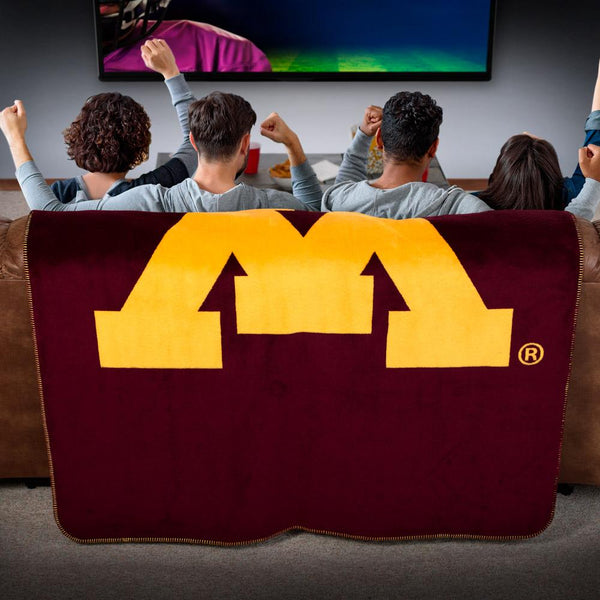 Minnesota Golden Gophers Denali Blanket - unique linens online