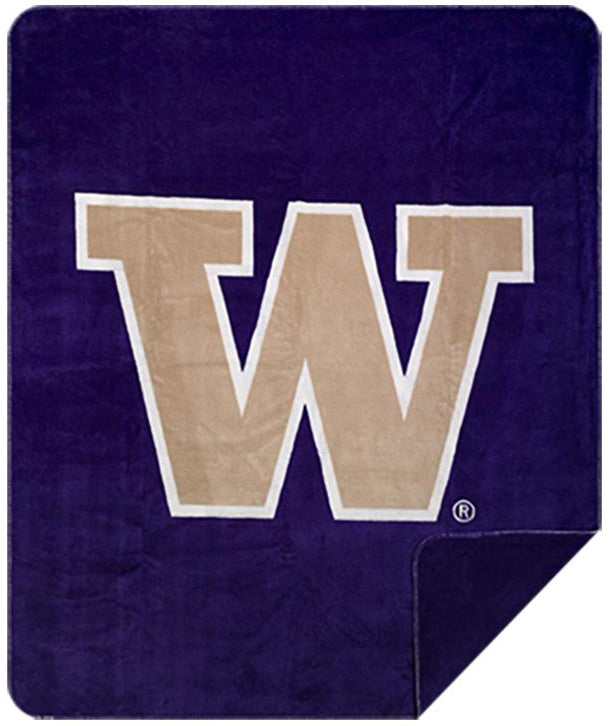Washington Huskies Denali Blanket - unique linens online