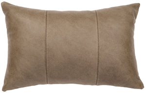 Leather Pillows Wooded River WD80227 - unique linens online