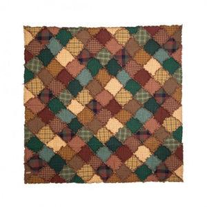 Campfire Quilted Throw - unique linens online