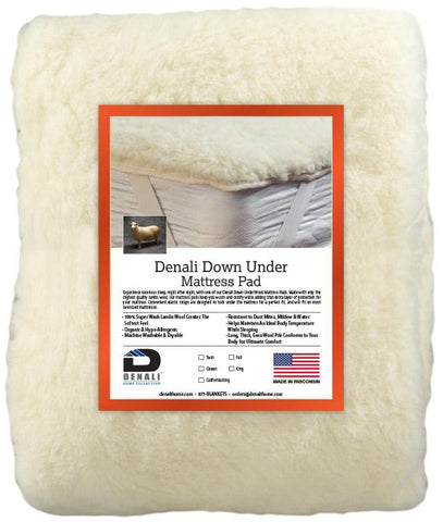 Denali Down Under (NON-FITTED) - unique linens online