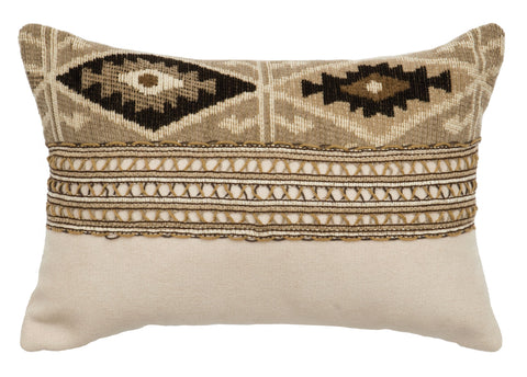 Mountain Storm Oblong Pillow Wooded River - unique linens online