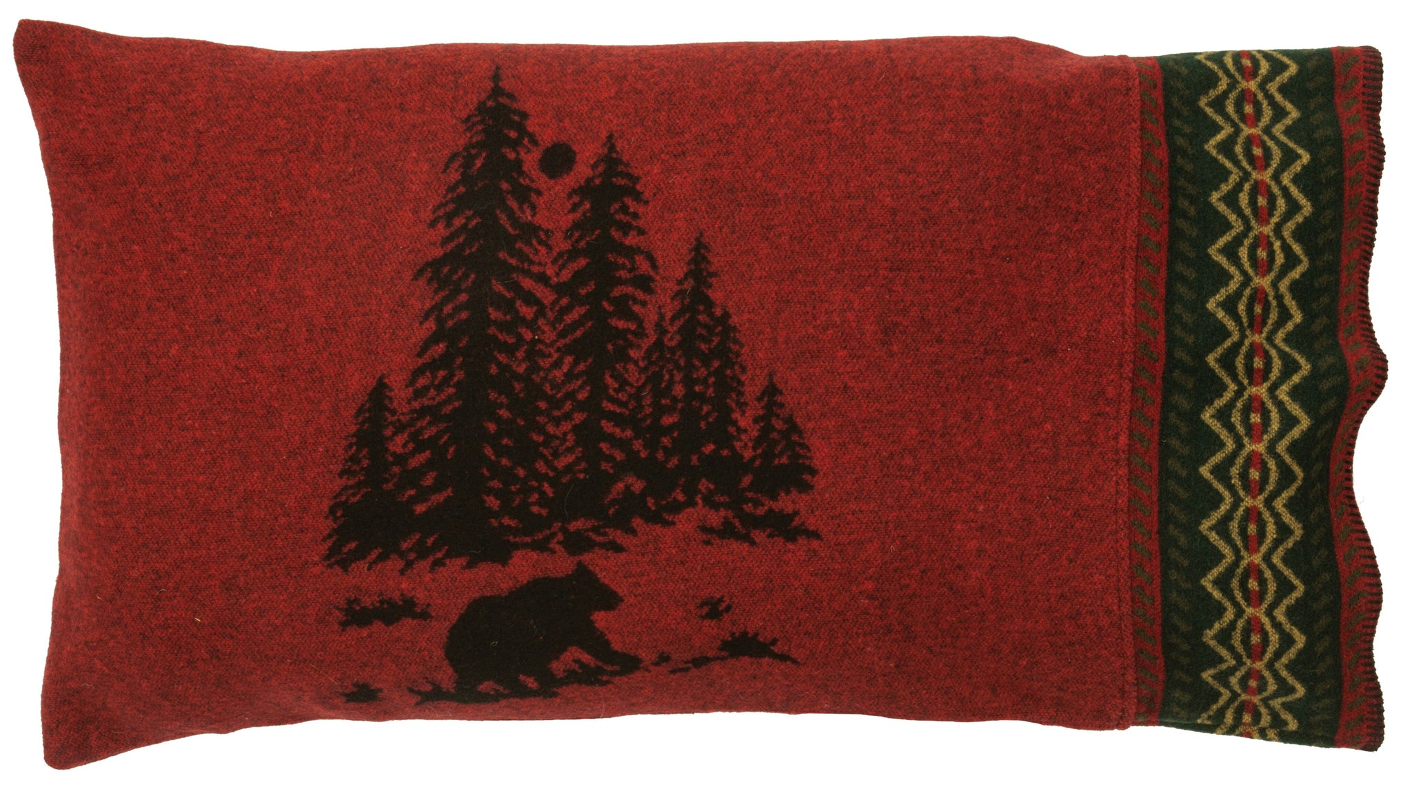 Wooded River Bear Shams Wooded River - unique linens online