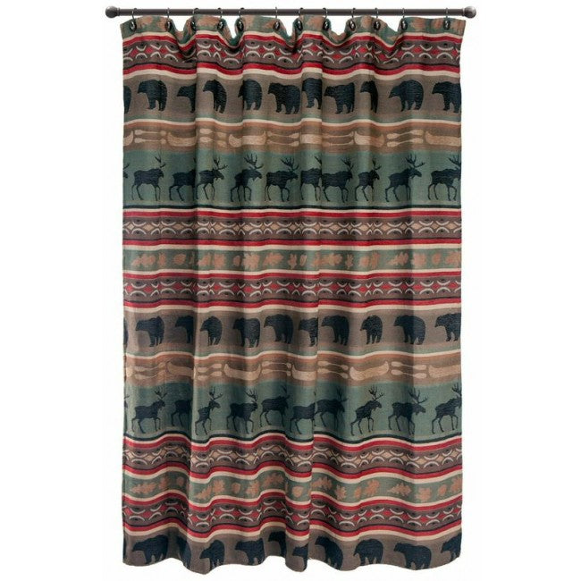 Backwoods Shower Curtain Set Carstens - unique linens online