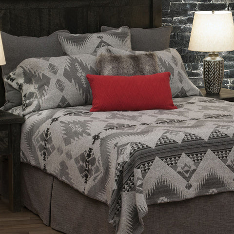 Geronimo Haze Bedspread Wooded River - Unique Linens Online