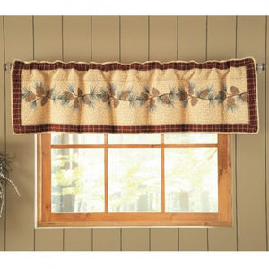 Pine Lodge Valance - unique linens online