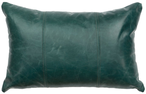 Leather Envelope Pillow Wooded River WD1456 - unique linens online