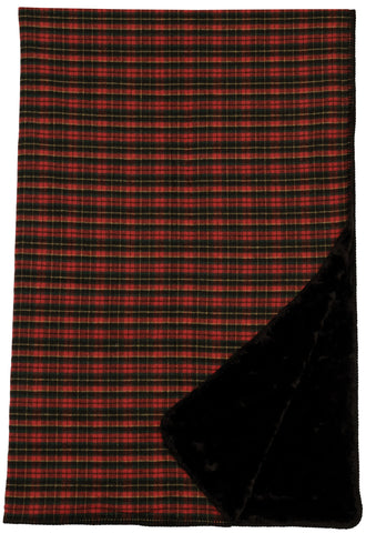 Premier Plaid Throw Wooded River - unique linens online