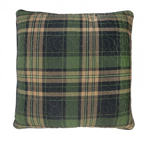Birch Bear Plaid Pillow - unique linens online
