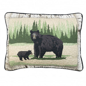 Birch Bear Shams - unique linens online