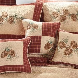 Pine Lodge Pillow - Unique Linens Online