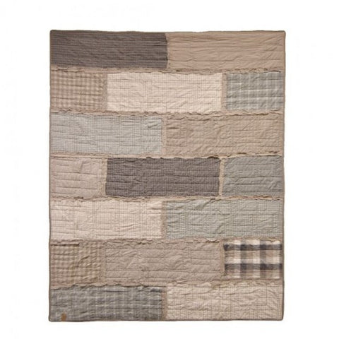 Smoky Cobblestone Throw - unique linens online
