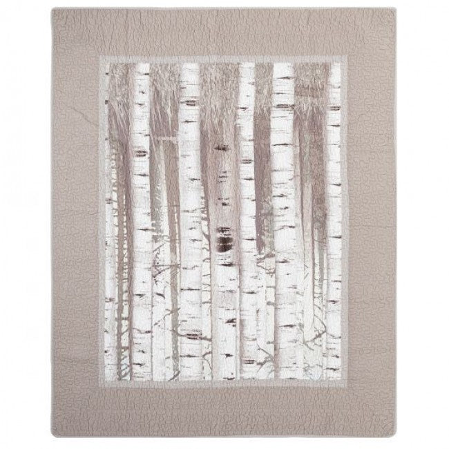 Birch Forest Throw - unique linens online