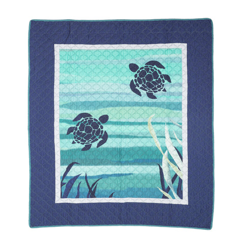 Summer Surf Throw Donna Sharp - unique linens online