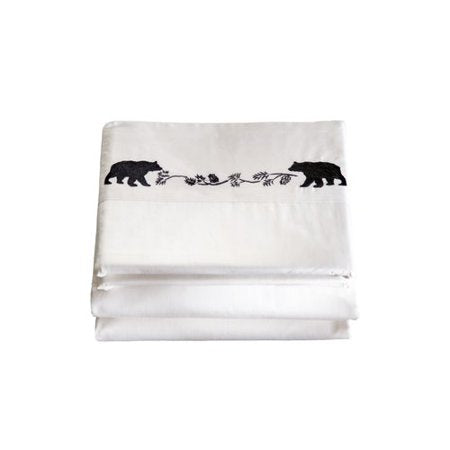 Embroidered Bear Sheets Carstens - Unique Linens Online