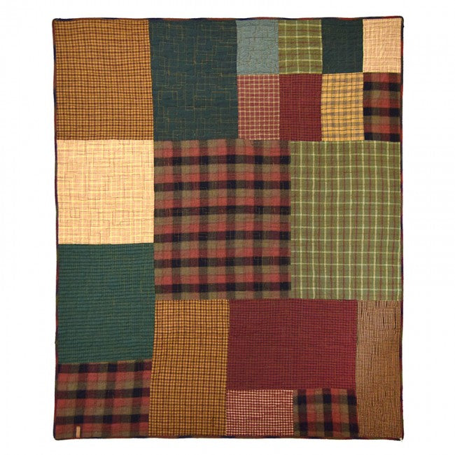 Campfire Square Throw - unique linens online