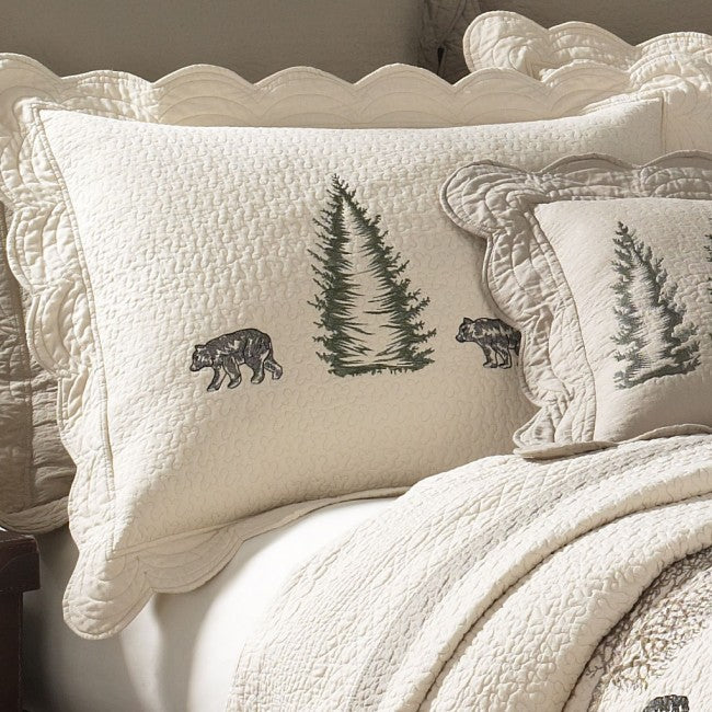 Bear Creek Shams - unique linens online
