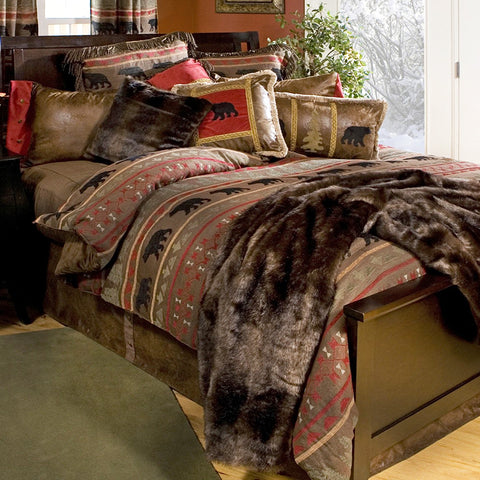 Bear Country Comforter Collection Carstens - unique linens online