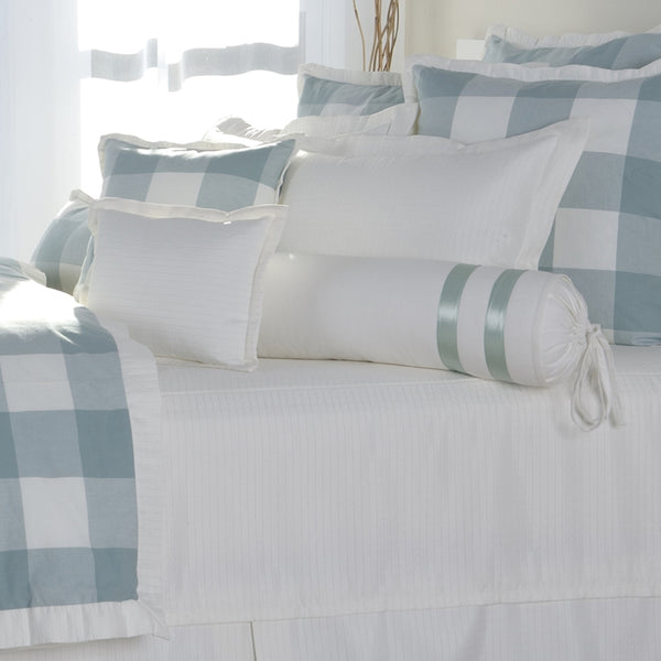 The Checkers Aqua Duvets Mystic Valley Traders - unique linens online