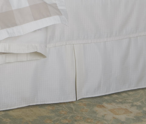 Natural Bedskirt Mystic Valley Traders - unique linens online