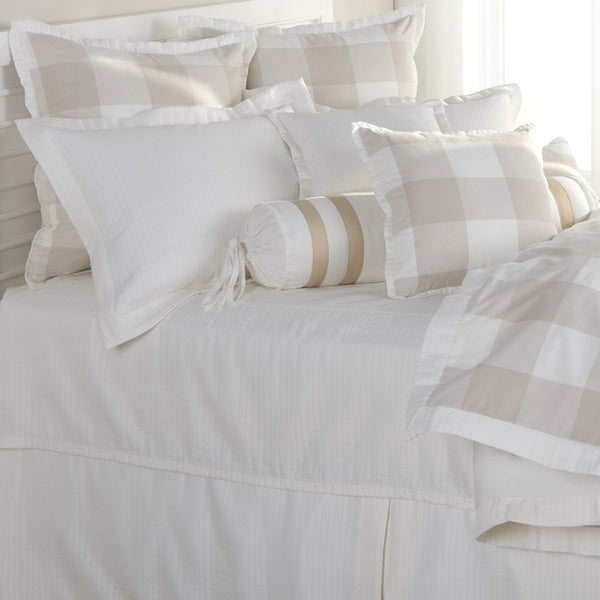 The Checkers Natural Duvets Mystic Valley Traders - unique linens online