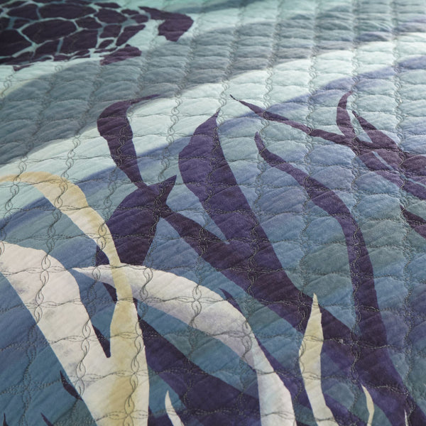 Summer Surf Quilt Set - unique linens online