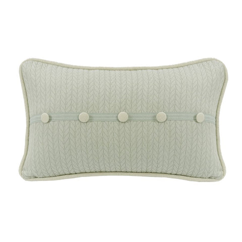 Accent Button Pillow HiEnd Accents - unique linens online