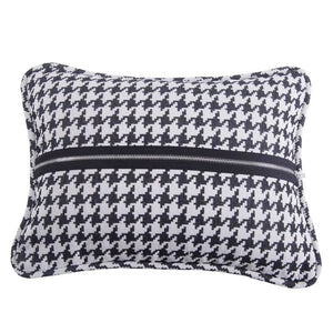 Hounds Tooth Decorative Pillow HiEnd Accents - unique linens online
