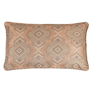 Sedona Sienna Geometric Body Pillow HiEnd Accents