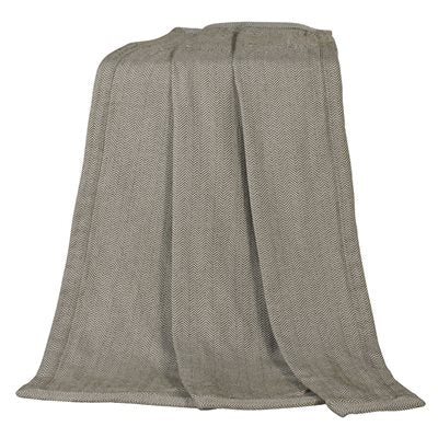 Fairfield Herringbone Throw HiEnd Accents - unique linens online