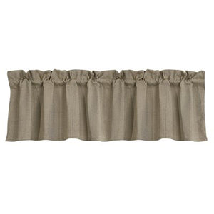 Fairfield Herringbone Valance HiEnd Accents - unique linens online