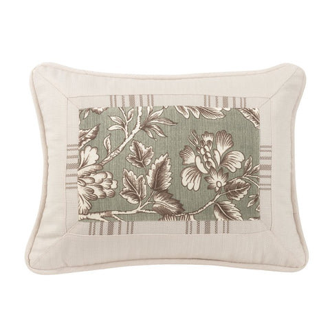 Gramercy Jacobean Floral Pillow HiEnd Accents