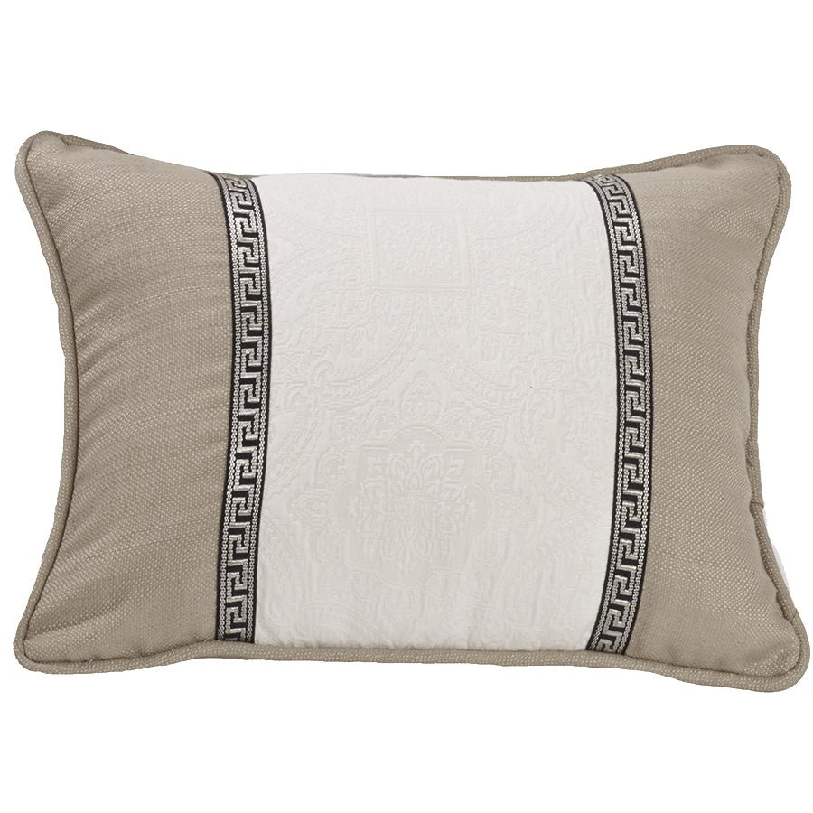 Augusta Matelassé Oblong Pillow HiEnd Accents - unique linens online