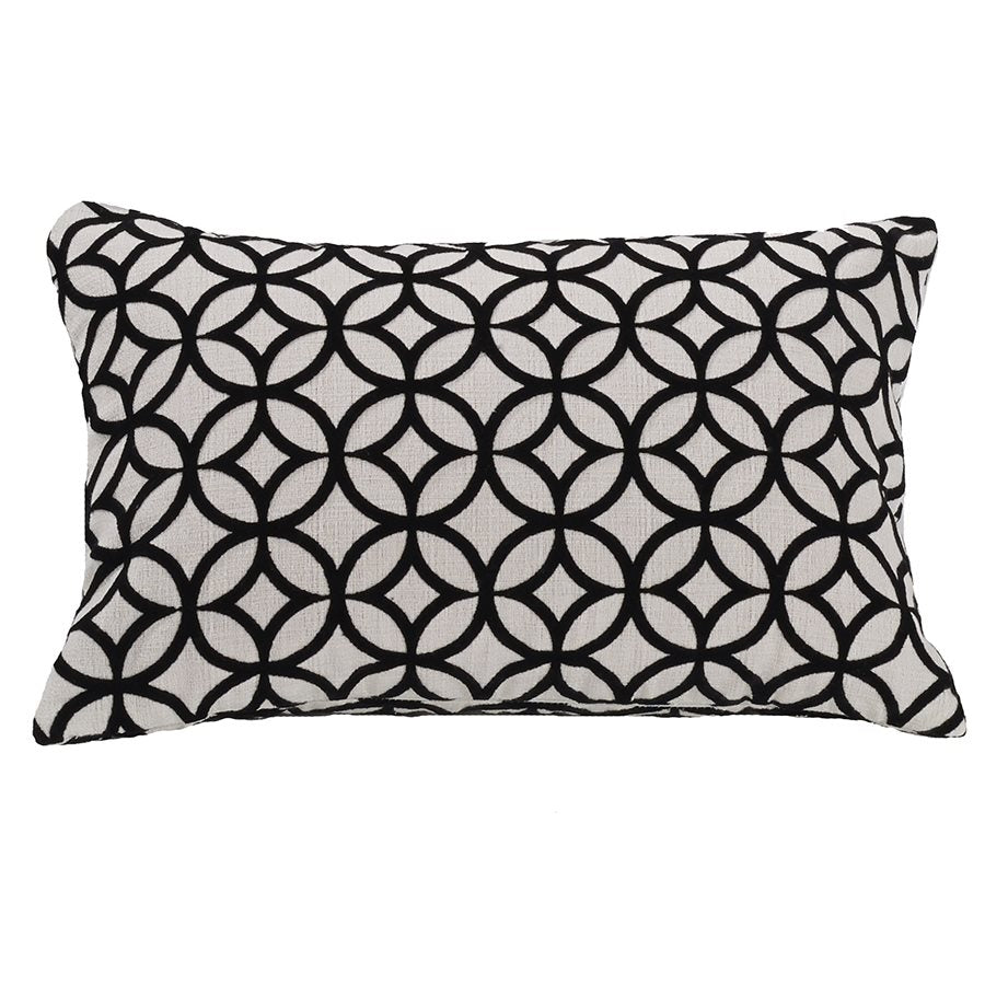 Augusta Oblong Pillow HiEnd Accents - unique linens online