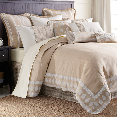 Newport Comforter Set HiEnd Accents - unique linens online