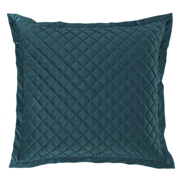 Quilted Velvet Euro Shams HiEnd Accents - unique linens online