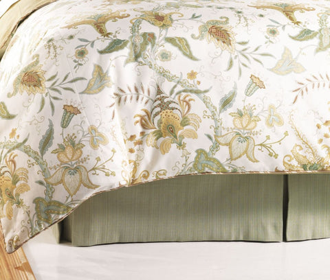 Fisher Island Bedskirt Mystic Valley Traders - unique linens online